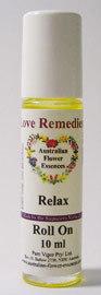 Relax roll on Australian Flower Essences Love Remedies