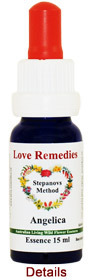 Angelica Love Remedies Australian Flower Essences 15 ml