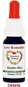 Slender Rice Love Remedies Australian Flower Essences