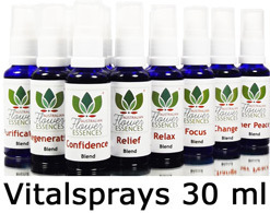 Vitalspray Set der Love Remedies Australian Flower Essences