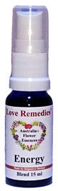 Energy 15 ml Australische Blütenessenzen Love Remedies