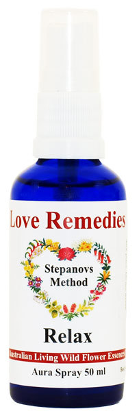 Relax Aurasprays Australian Flower Essences Love Remedies