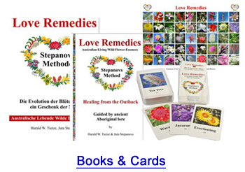 Australian Flower Essences books Love Remedies