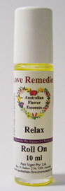 Relax roll on Australian Flower Essences Love Remedies